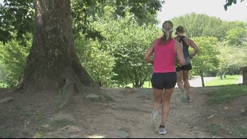 Staying safe while running on greenways