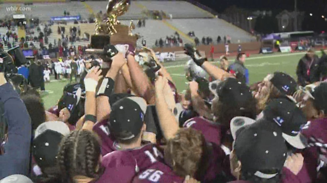 Alcoa and Central HS football take home state titles once again