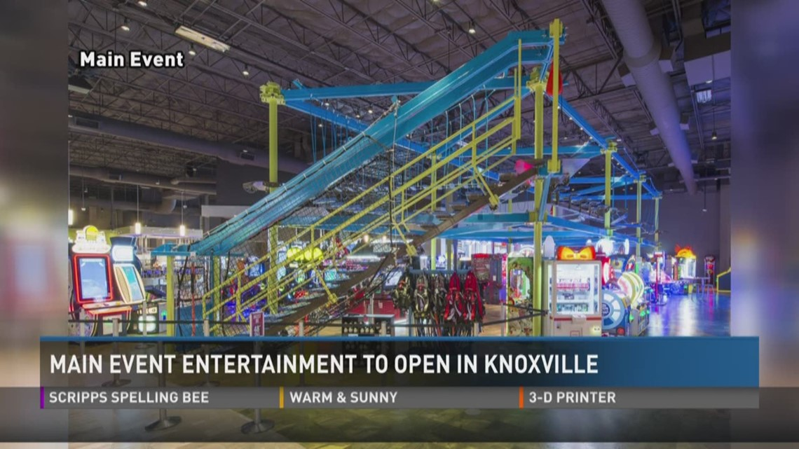 Main Event Entertainment To Open In Knoxville Wbircom