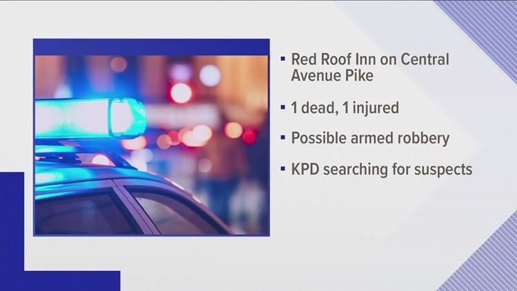 One dead, one hospitalized after shooting at Red Roof Inn on Central Avenue Pike
