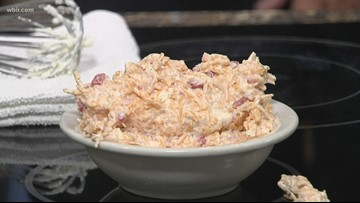Easy pimento cheese from the Applewood Farmhouse Restaurant