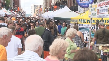 You could soon be drinking alcoholic beverages on downtown Knoxville streets, sidewalks during festivals