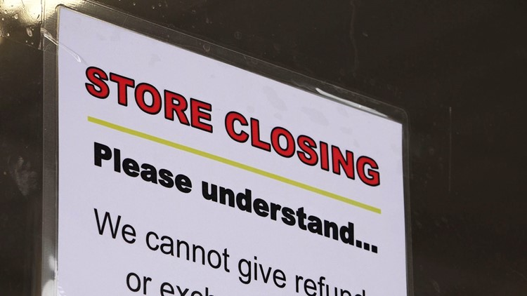 Elder's Ace Hardware Store Closing Sign Broadway Shopping Center Knoxville