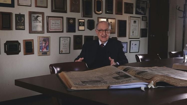 John Jones Jr., retired Greeneville Sun editor and son of Greenevilel Sun publisher John Jones Sr.