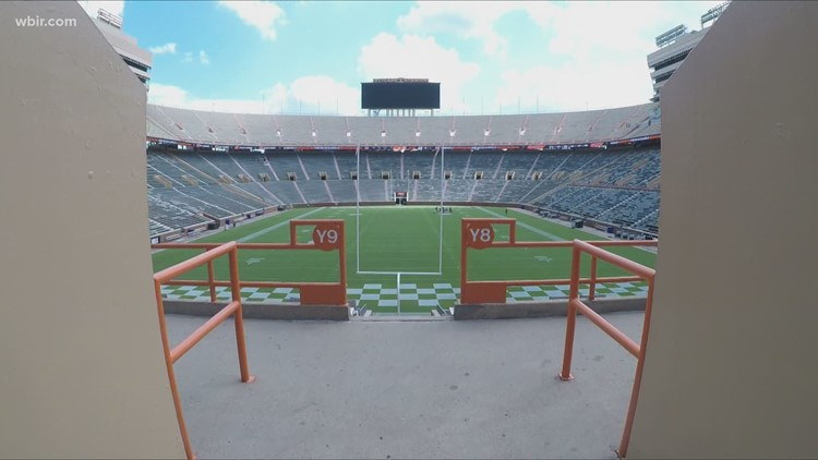 Less than 80 people show up to UT's Neyland Stadium COVID-19 vaccine clinic