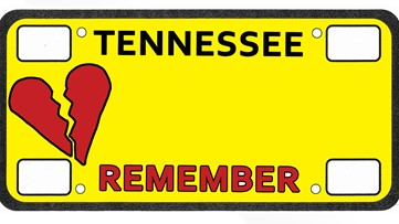 Healing is a long journey: Tennessee group releases license plate design to honor lost loved ones