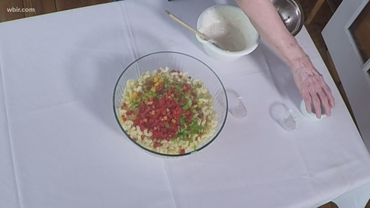 Miss Olivia's macaroni salad
