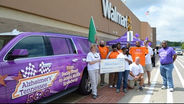 Alzheimer's Tennessee 500 will drive from Memphis to Bristol