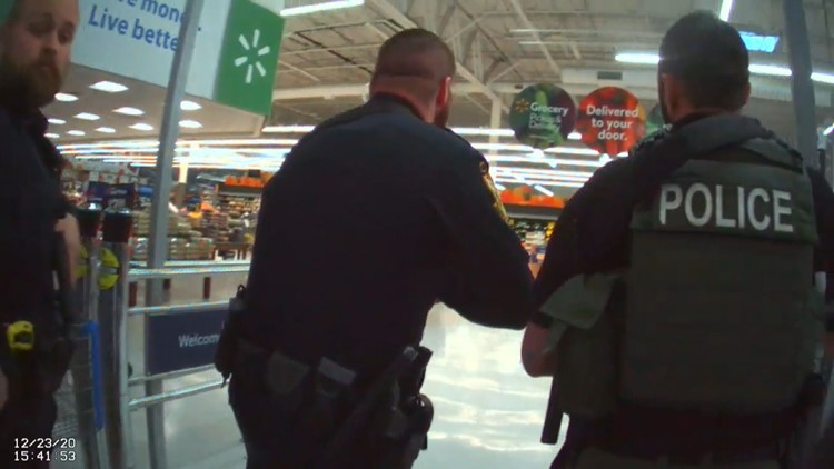 Bodycam shows armed response to false reports of active shooting at Sevierville Walmart