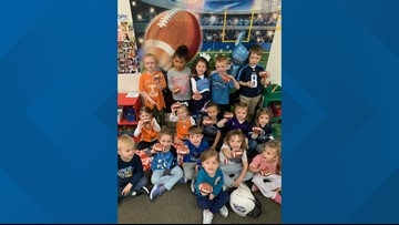 Sevierville day care hosts Titans party ahead of AFC Championship game