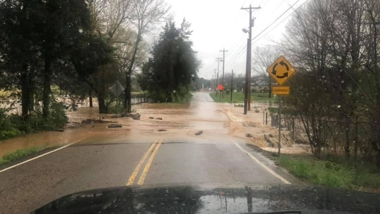 Waters are receding across East Tennessee after heavy rains caused flooding over the weekend