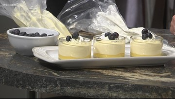 In the kitchen: Lemon curd mousse