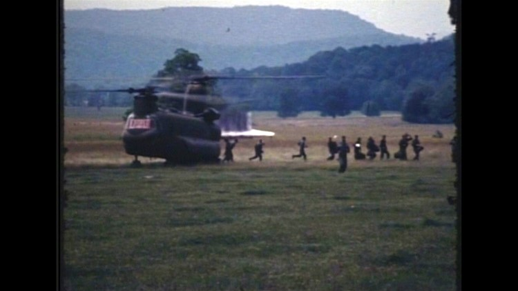 Dennis Martin 1969 search Chinook Helicopters Great Smoky Mountains