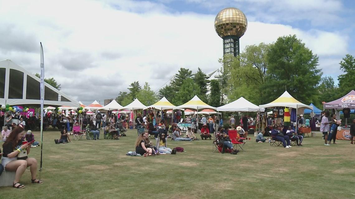 Carribean Jerk Fest at World's Fair Park