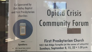 Oak Ridge churches join fight against opioids