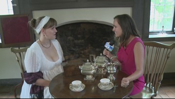Historic Ramsey hosts afternoon of hot tea and Jane Austen
