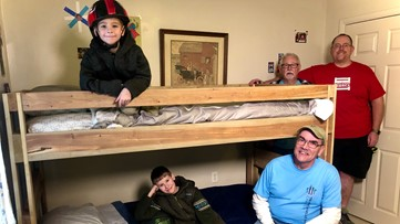 Pay it Forward: Organization builds beds for bedless children in East Tennessee