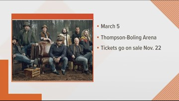 Zac Brown Band coming to Knoxville on March 5