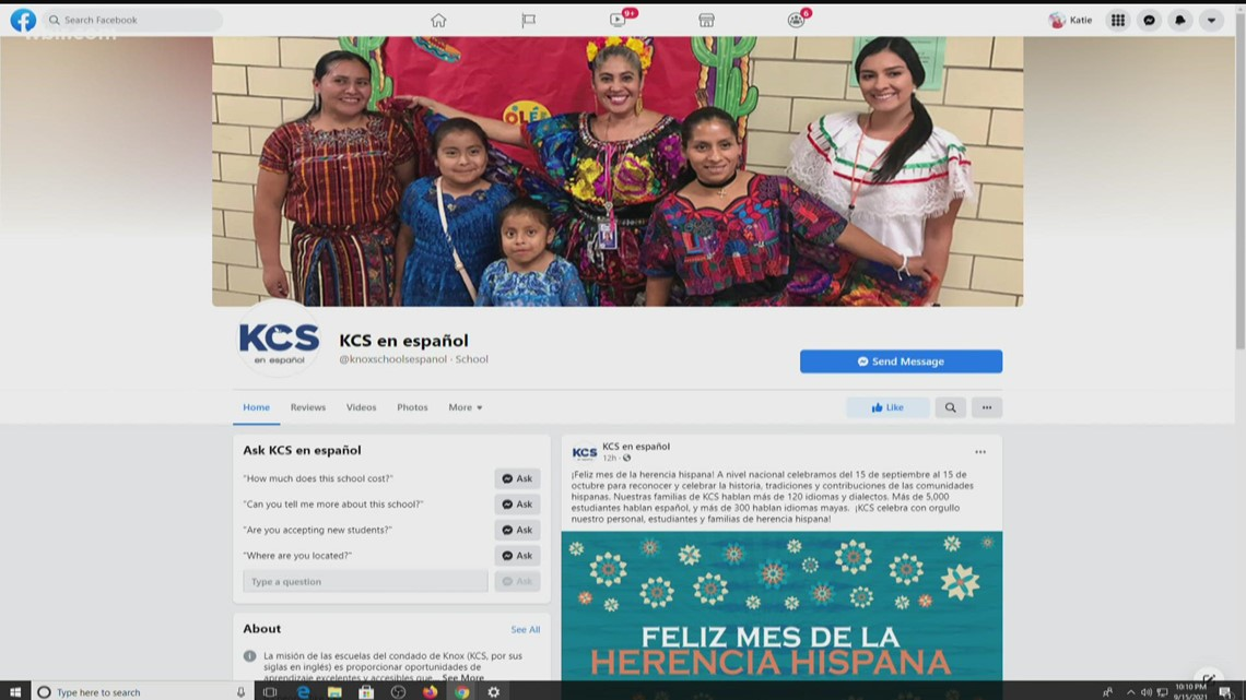 Knox County Schools launches social media page for Spanish-speaking families