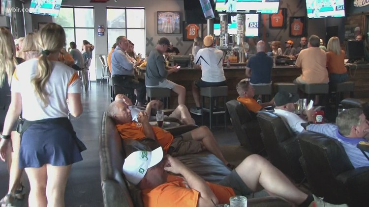 Vol fans support baseball team during College World Series