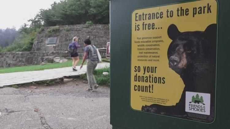 UT engineers bolster Smokies donation box design