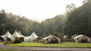 Glamping is the bougie travel trend even my squirrel-hunting, redneck uncle could get behind