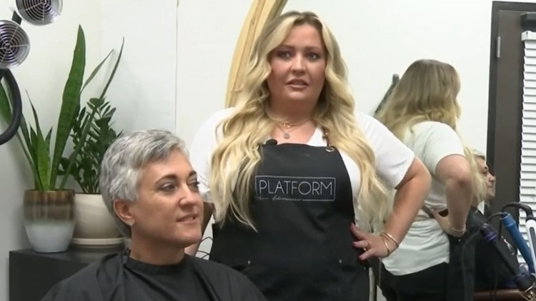 'Thank God for Meghan': Hairstylist notices tumor on client's head during appointment