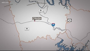 State Rep. Faison injured in I-40 crash