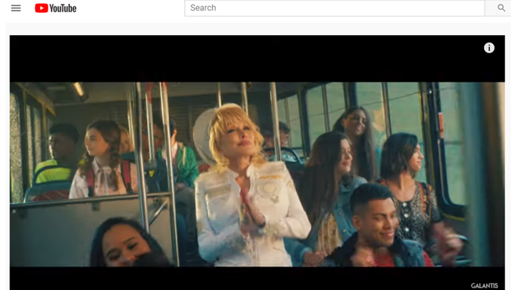 dolly parton galantis faith music video