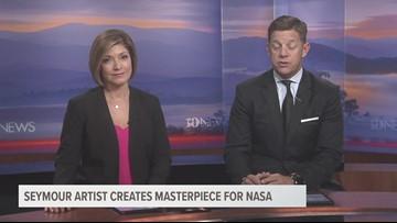 Seymour artist creates masterpiece for NASA
