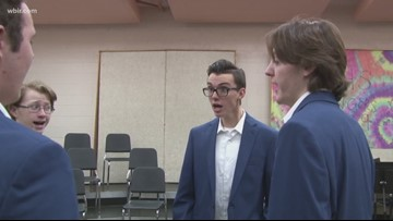 Powell HS barbershop quartet recognized nationally