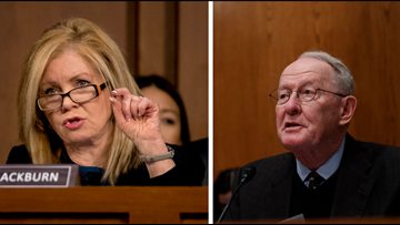 Sen. Marsha Blackburn votes against resolution blocking border wall, Sen. Lamar Alexander votes for it