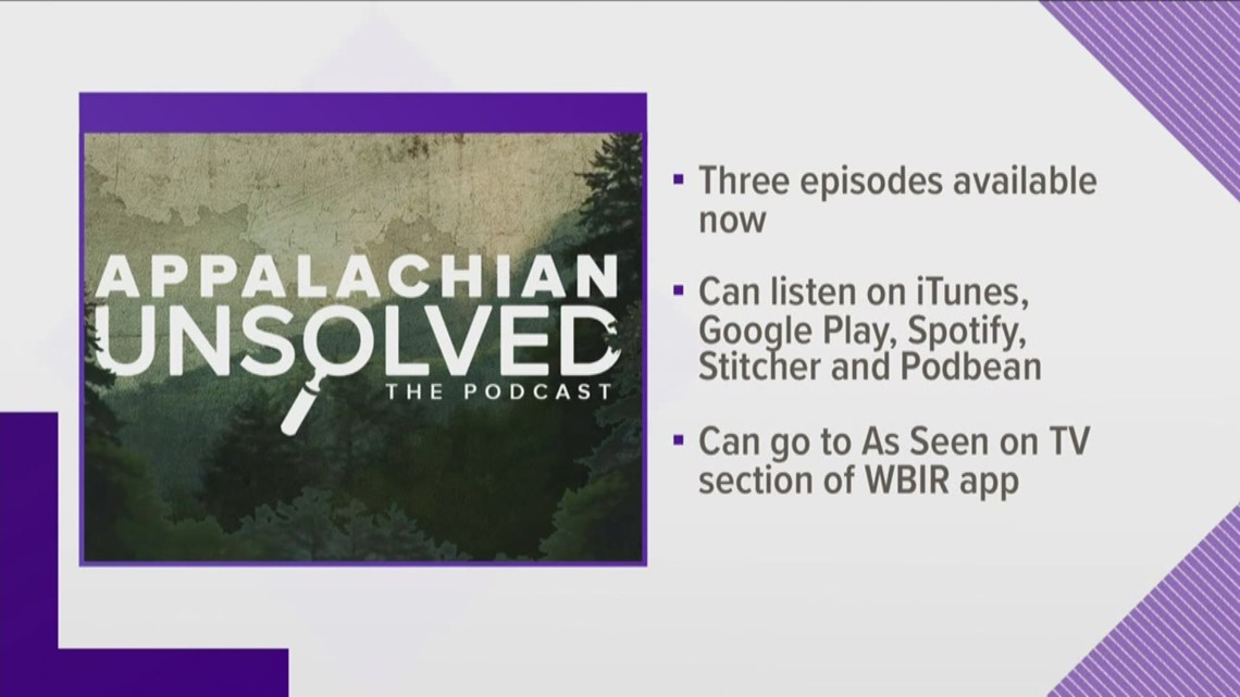 Appalachian Unsolved podcast available now