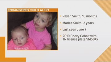 TBI searching for missing Cookeville girls