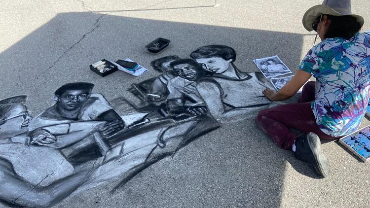 Street Painting Festival to honor Oak Ridge 85