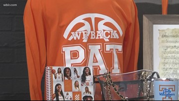 The Vol Shop has some orange & inspired items for basketball fans