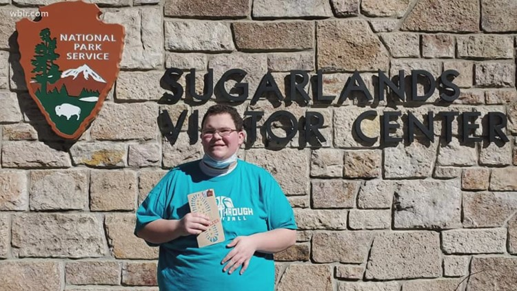 Teen with autism hikes 100 miles in the Great Smoky Mountains