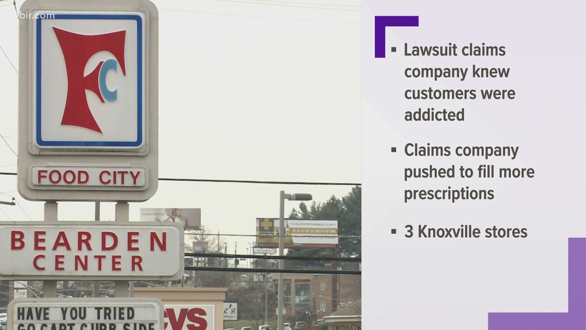 TN AG suing Food City, accusing company of unlawfully selling tens of millions of opioids