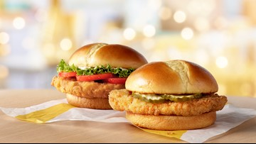 McDonald's is testing a new chicken sandwich in Knoxville