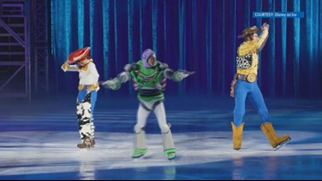 Knoxville native takes center rink in Disney on Ice