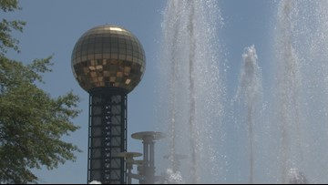 How  Knoxville kept cool on the hottest day of the year