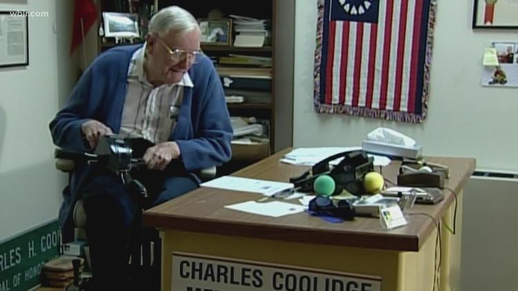 World War II veteran, Charles Coolidge, dies at 99 years old