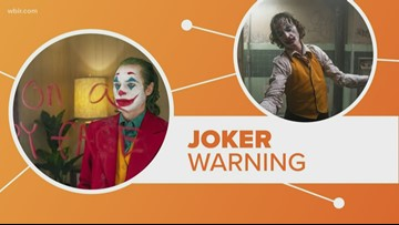 Connect the dots: Special warnings for 'Joker'