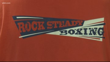 Rock Steady Boxing for people with Parkinson's