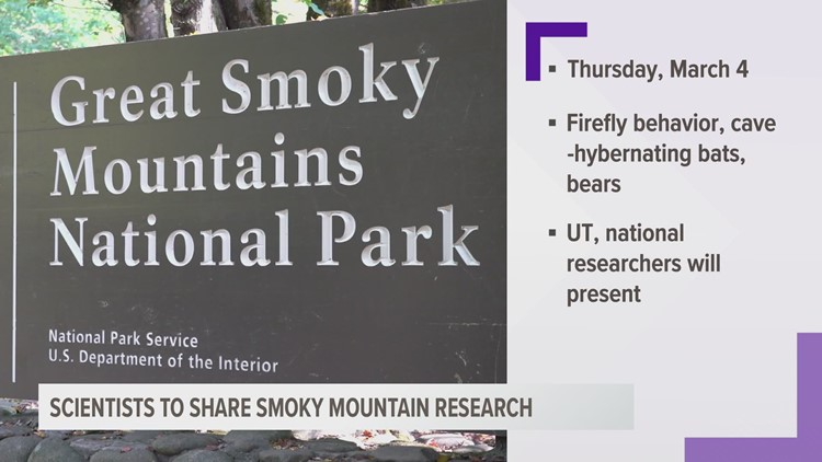 Scientists to share Great Smoky Mountain research in March