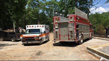 Two rescued with injuries after jumping into the Blount Avenue quarry