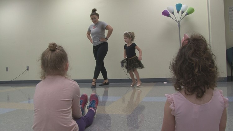 Instructor Amanda Riggs focuses on fun over form