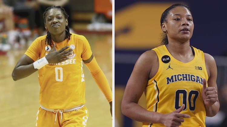 LIVE UPDATES: NCAA Women's Tournament second round - Lady Vols vs. Michigan