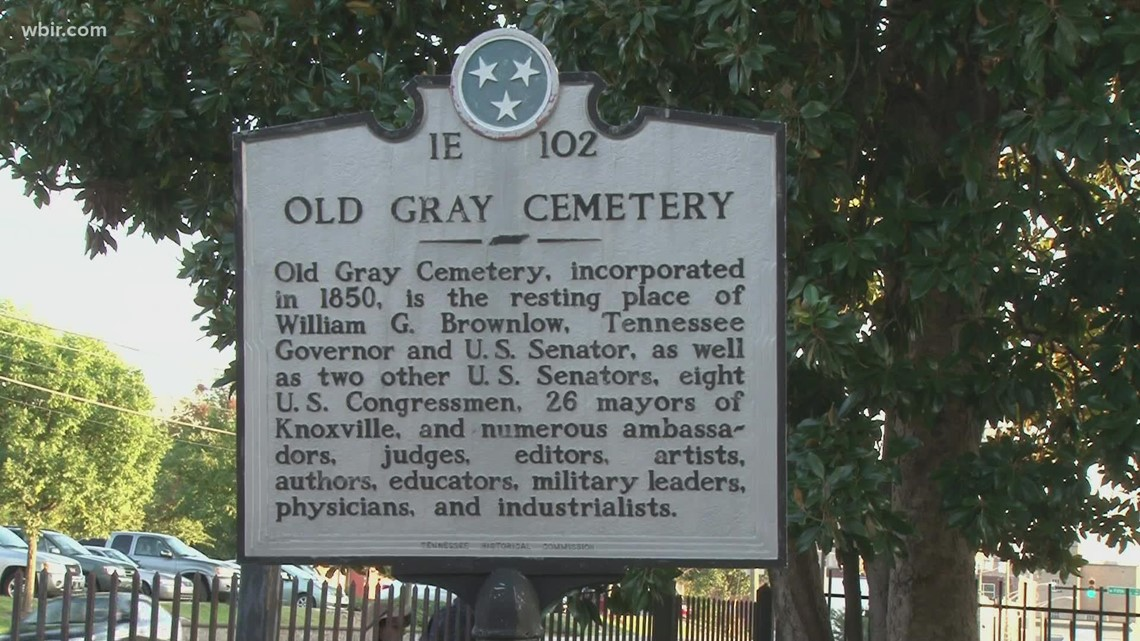 Spirits of Old Gray set for Oct. 17 at Old Gray Cemetery in Knoxville