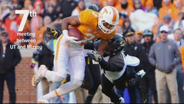 Vols vs. Mizzou, by the numbers